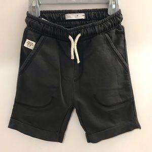 NWT Zara Kids Shorts Dark Grey